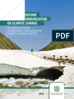 Pakistan's Second National Communication on Climate Change to UNFCCC