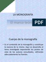 LA MONOGRAFÍA-marco Teórico