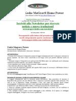Magravs Home Power Manuale Italiano