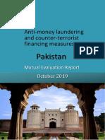 APG Mutual Evaluation Report Pakistan October 2019