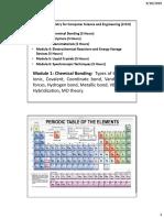19CH1002-Module 1 Chemical Bonding - Part A