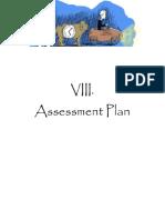 8 - assessment plan