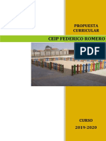 Proyecto Curricular de Centro