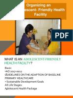 Adolescent Friendly Health Facility