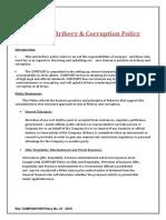 1. Anti-Bribery Policy - UPload