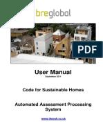 BRE Global CSH AAPS User Manual V1.0 Copy