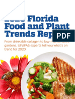Food and Plant Trend Report 2020