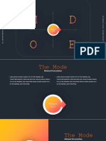 Mode - Powerpoint Template
