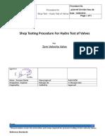 Hydro Testing Procedure - ZVV-JASH-R0.doc
