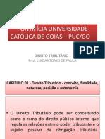 Apresentação Capitulo 1 - Direito Tributário (1)