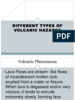 Types of Volcanic Hazard