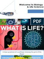 Introduction to Life Science Ppt