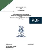 Aditya Seminar Report