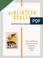Exposición Homenaje a Antonio Machado