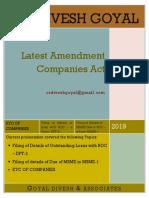 Crucial Amendment - F.Y. 2019