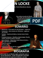 JOHN LOCKE - FILOSOFO DO LIBERALISMO