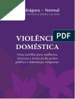 Cartilha Violencia Domestica