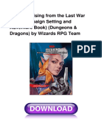 Eberron Rising From the Last War D and D