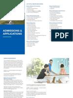 Prospectus2018 Admissions Application