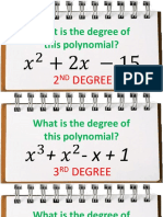 Roots and Degree of Polynomial
