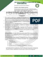 Resolucion No. 003 Octubre 18 de 2019 Proceso Eleccionario Subbdirectivas