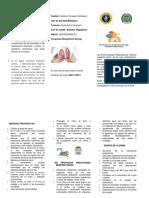 INFORMACION IMPORTANTE SOBRE CUIDADO DE PULMONES
