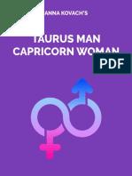 taurus man and capricorn woman