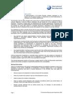 IB Animal Experimentation Policy