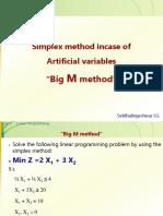 03. The Big M Method