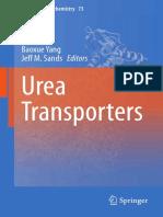 (Subcellular Biochemistry 73) Baoxue Yang, Jeff M. Sands (Eds.) - Urea Transporters-Springer Netherlands (2014)