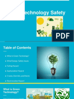 Green Technology Safety