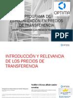 Sesion1 Precios Transferencia OPTIMA