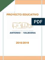Proyecto Educativo Ceipav 2016-2019