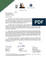 2011-11-15 Sec. Pompeo Letter; Bolivia & Cuba