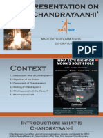 Presentation on 'Chandrayan-II'