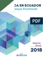 La Banca en Ecuador un enfoque provincial 2018