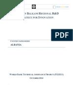 Western Balkans R&D Albania
