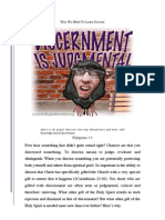 Discernment Printable Ed
