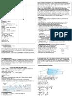 Ray Optics Notes