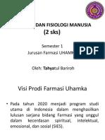1. Pengantar Anatomi Dan Fisiologi Manusia