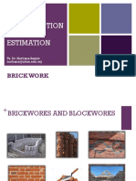 6 Brickwork