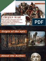 Trojan War  Presentation