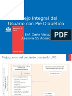 Manejo Integral Del Usuario Con Pie Diabtico