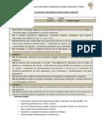 Evaluación de Proceso Matemática II Semestre Séptimo Año