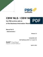 PBS CBW NLS Administrator Guide