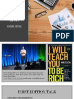 I Will Teach You to Be Rich Google Talks Investing