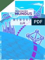 Memoria 2018 Asociación Mundus