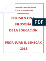 Filosofia de la Educacion. Final.docx