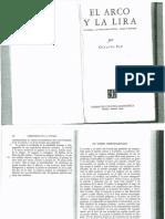 Octavio Paz, El Verbo Desencarnado