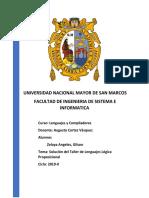 Informe Lenguaje Logica Proposicional-Zelaya